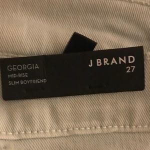 J Brand Georgia slim boyfriend blue seagrove jeans